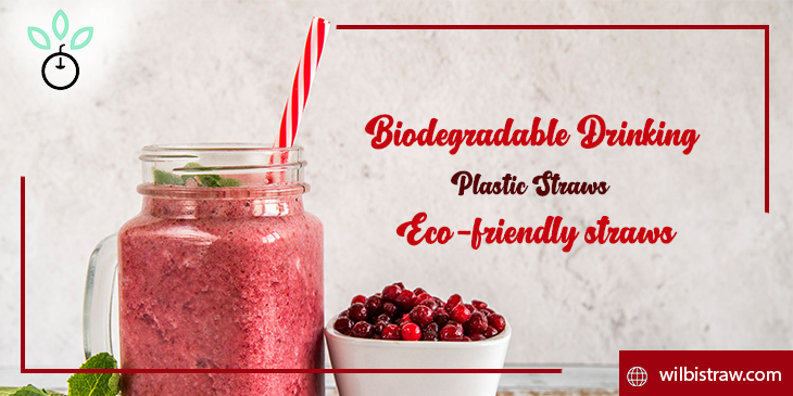 biodegradable drinking plastic straws