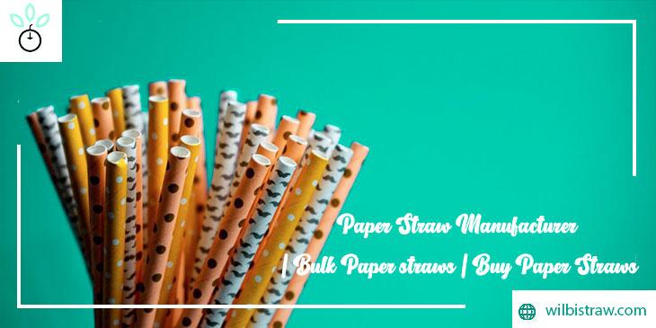 paper straw manufacturer
